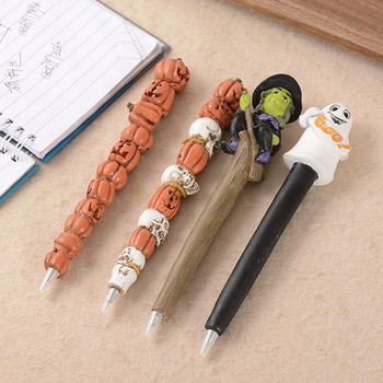 new polyresin Novelty halloween skeleton pen,Skeleton ballpoint pen
