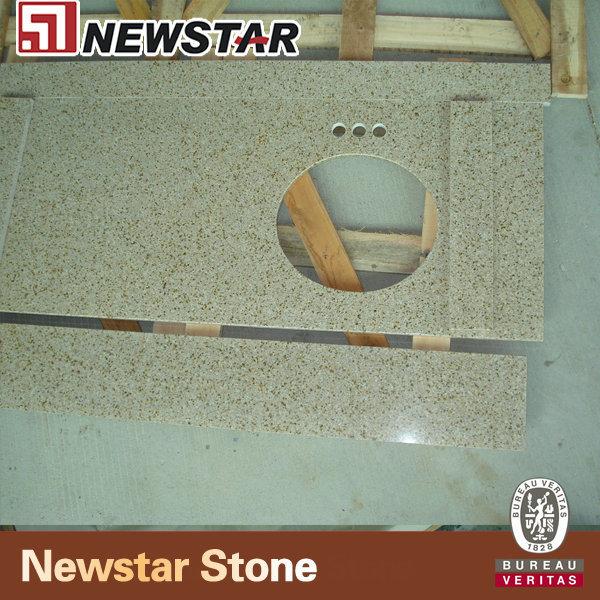 Newstar Giallo Fantasia Granite Countertop