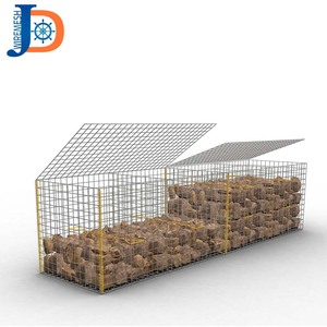 Manufacture good quality wire cages rock wall