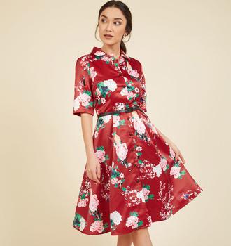 Oem Women 3/4 Sleeve Vintage Patchwork Party Swing Dress Square Neck Midi 9  Colors Autumn Rockabilly Plus Size Dress - Buy High Quality Plus Size ...