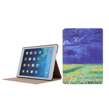 Tablet case cover super slim leather case for ipad 9.7 2017 , for ipad case ipad mini 2 3 4 , for ipad leather case