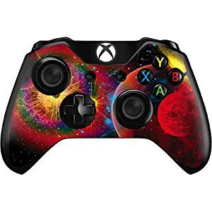 Space Xbox One Controller Skin - Universe in Chaos Vinyl Decal Skin For Your Xbox One Controller
