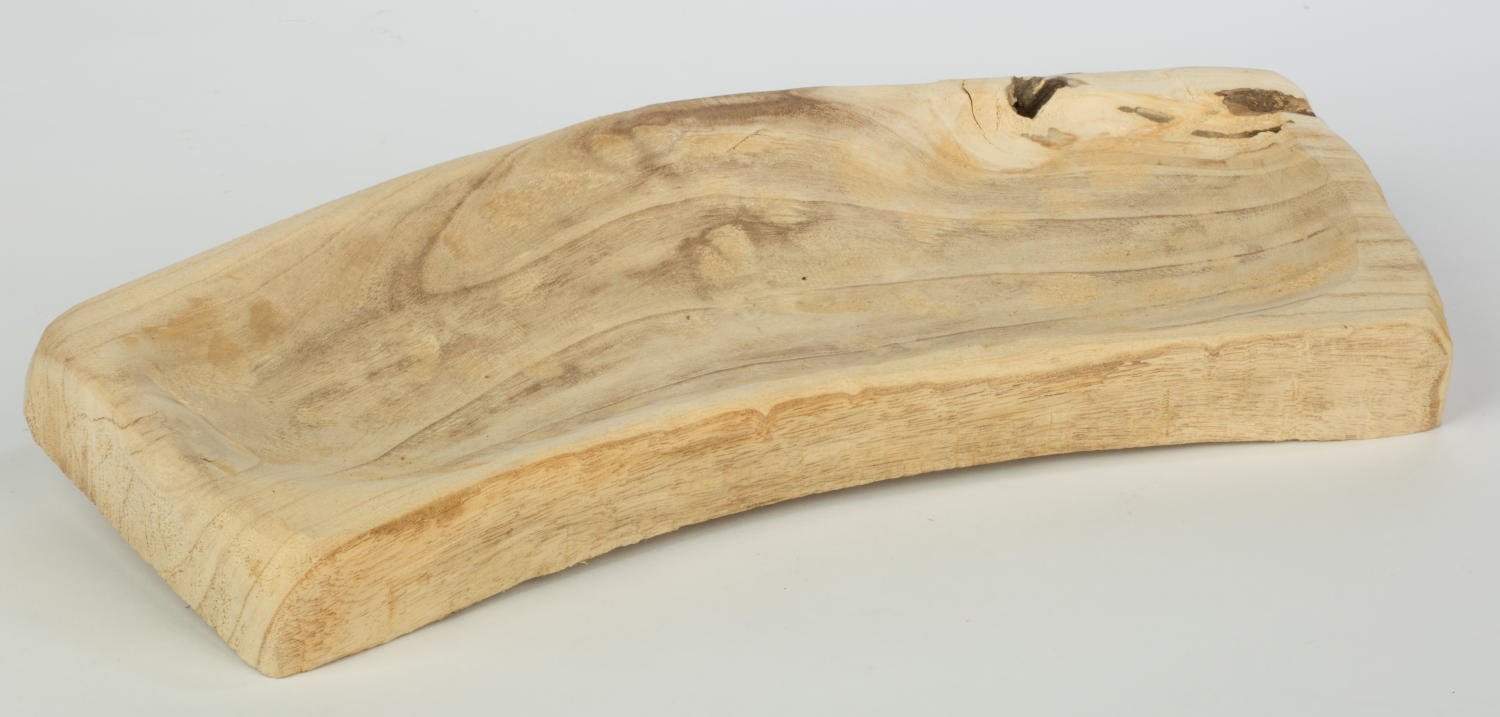 Recessed Driftwood Tray Store Fixture Retail Display Jewelry Holder