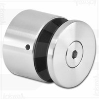 New style polished stainless steel glass door hinge
