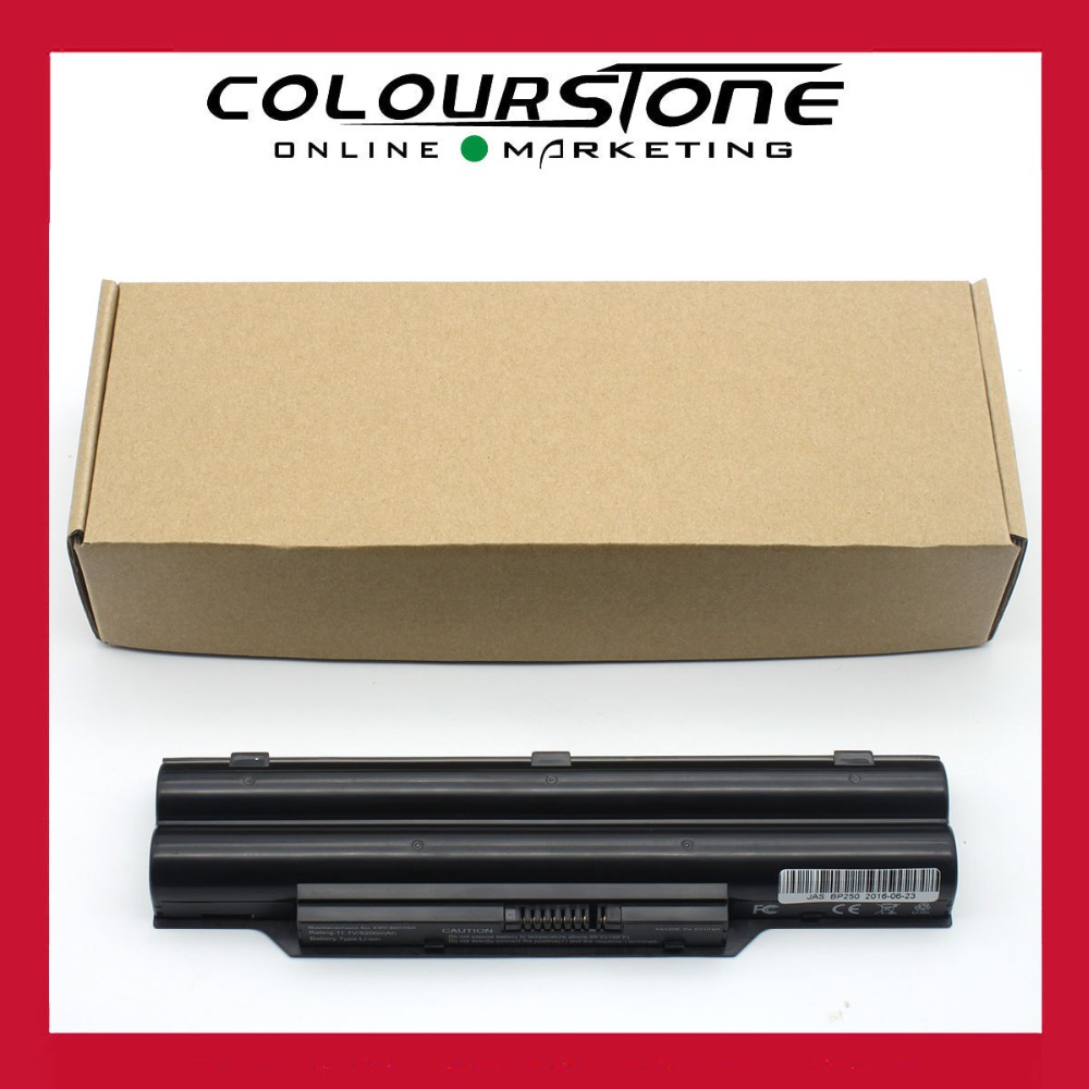 High quality New For Fujitsu BP250 11.v 5200mAh 6 cells black laptop Li-ion battery FPCBP250AP