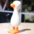 BPA Free  Baby Teether Soft Silicone Natural Teething Chew Toy Cute Duck Shape