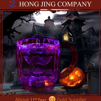 Halloween Decoration Table Decoration Light Up Pumpkin Cup