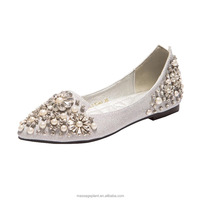 Foldable and Rollable Ballet Bridal Flats For Wedding Party