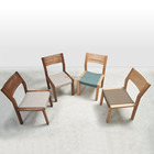 Natural ash solid wood chairs