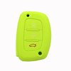 silicone car key cover for hyundai 3 button for hyundai remote key case