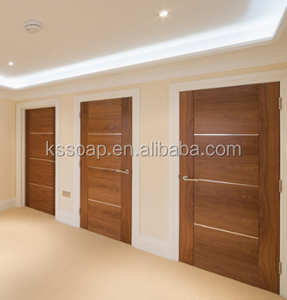 Cheap Hotel Wooden Modern Flush Door with Good Quality