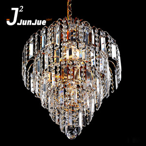 China manufactory economic luxury crystal long chandelier