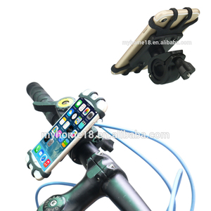 Universal Silicone Bike Mount Mobile Phone Holder smartphone holder bike mounts mobile phone holders for bicycles