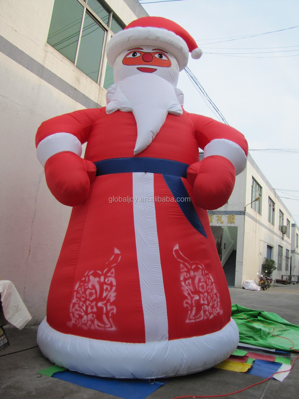 Large outdoor christmas decoration plastic