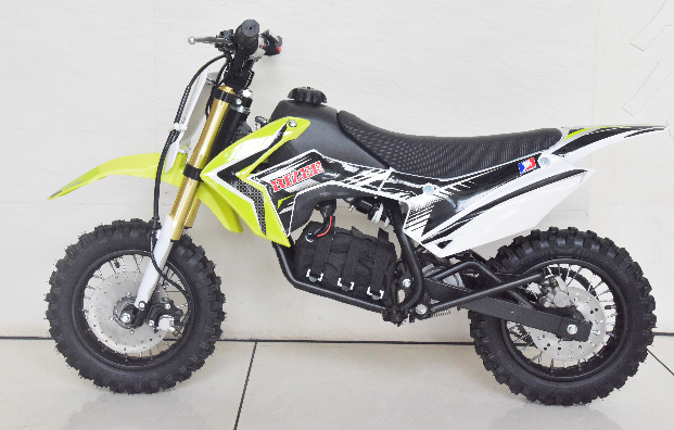 CRF pit bike with electric power 900W battery 36V 9AH