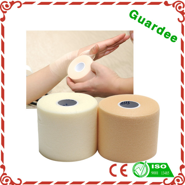 Health Care Product 0.8mm White Sports Foam Tape