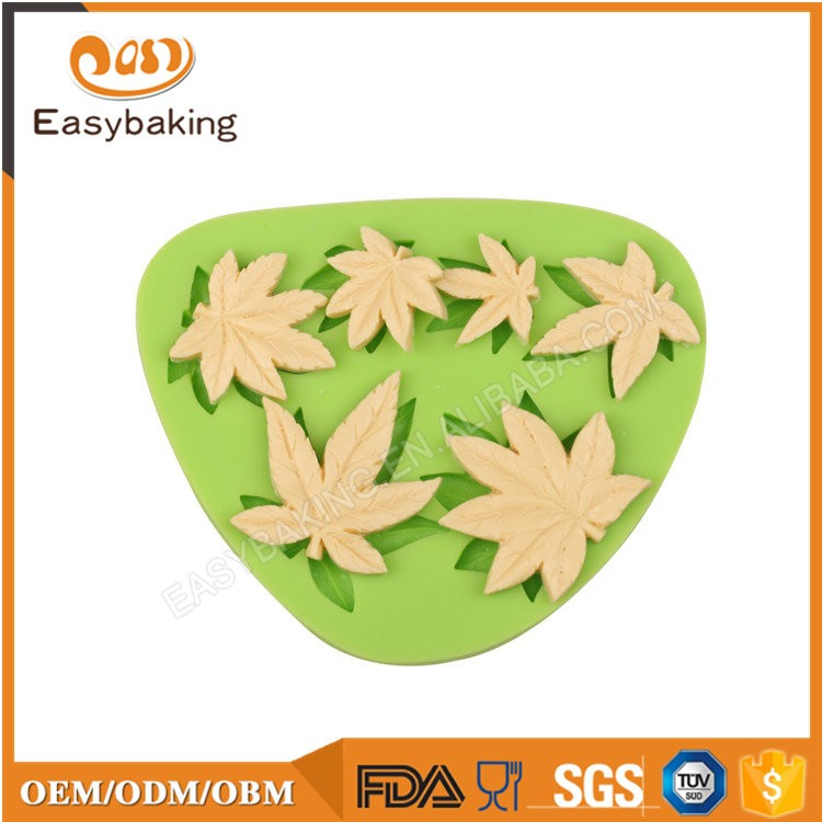 ES-4410 Fondant Mould Silicone Molds for Cake Decorating