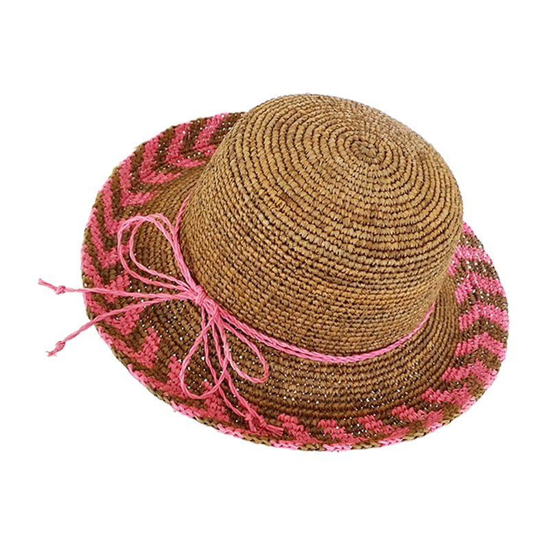 multi color custom women sun straw hats