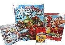 "MARVEL AVENGERS ASSEMBLE ""Building The Team"" 4 PC Bundle Fun Pack Comes With:Marvel Avengers Assemble Coloring & Activity Book~Marvel Super Heroes Connect N' Color Activity Fun Pad With 5 N' 1 Wacky Stack Crayon With Built In Storage Compartment~Marvel Avengers Assemble War & Rummy Card Set~"