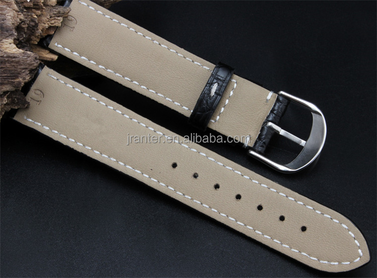 China Genuine Crocodile Leather 30mm Watch Band Factory Price