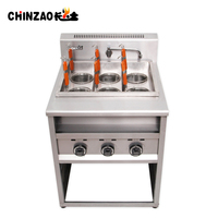 Automatic industrial gas cooking range professional noodle making machine