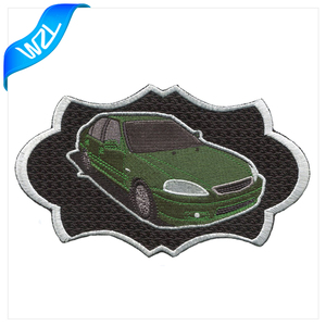 Car embroidery patch custom iron on patch