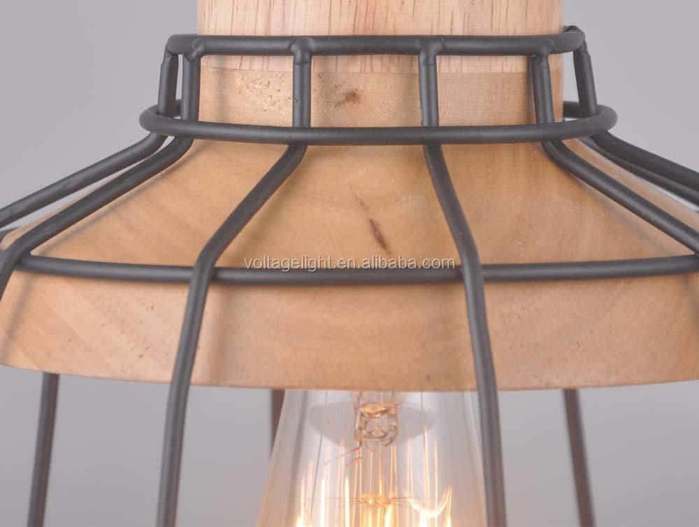 Decorative Metal Pendant Light Cord Wire Pendant Light For Coffee ...