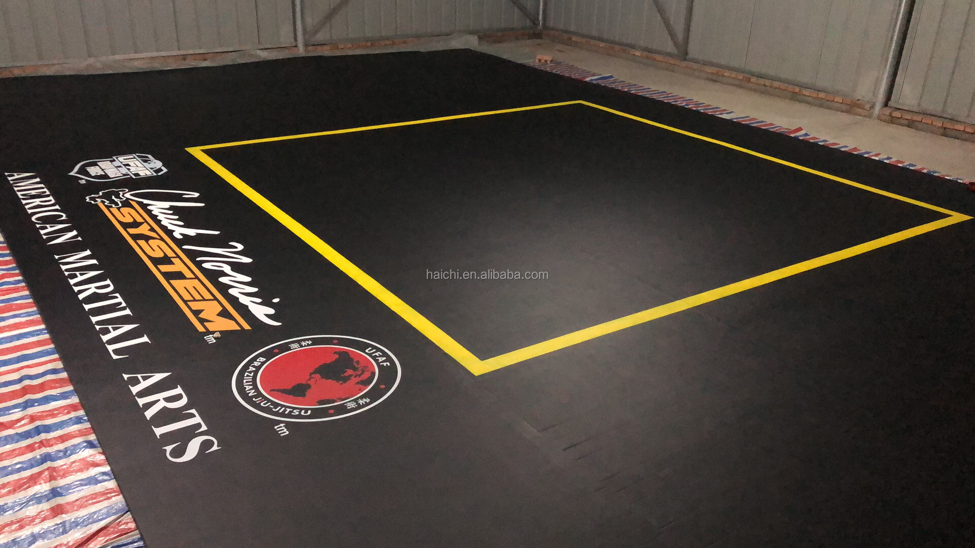 SGS Certified Gymnastics Flexi Roll Out Gym Mat With Low Price