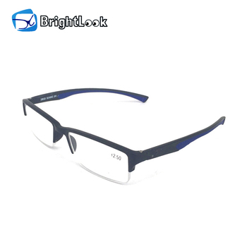 ae8470542078 from china wholesale soft material No MOQ half rimless fancy men eye  glasses frame