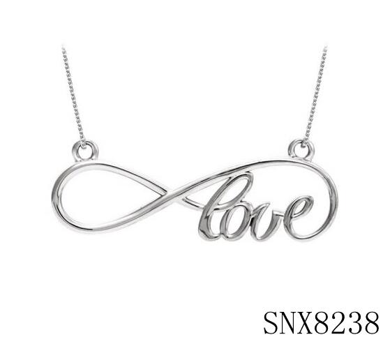 Best Sale Love Infinity Symbolic Pendant Necklacecute Anniversary