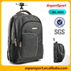 2016 new arrival laptop trolley backpack with high quality