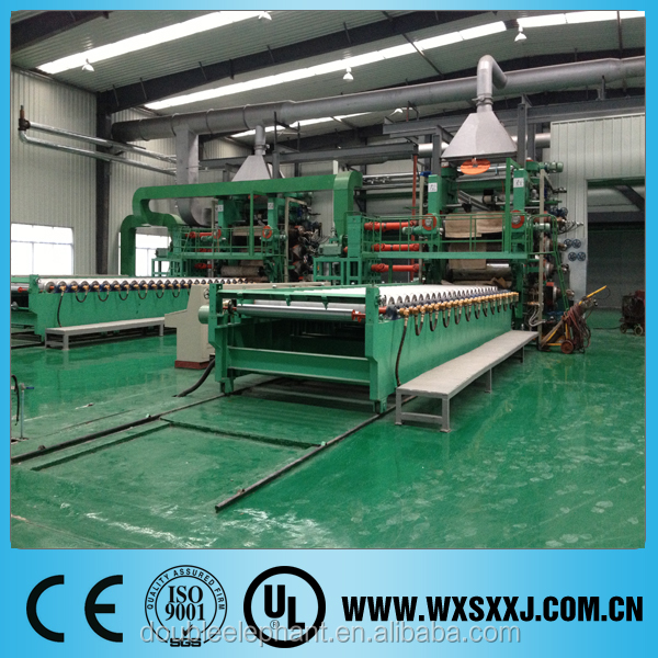 SY-5F 610*1830mm PVC film making machine for banner flex