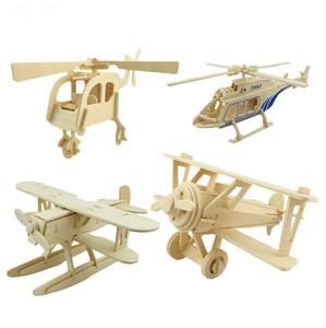 Oray Educational Toys 3D Wooden Construction Kit Woodcraft Construction Kit For Kids