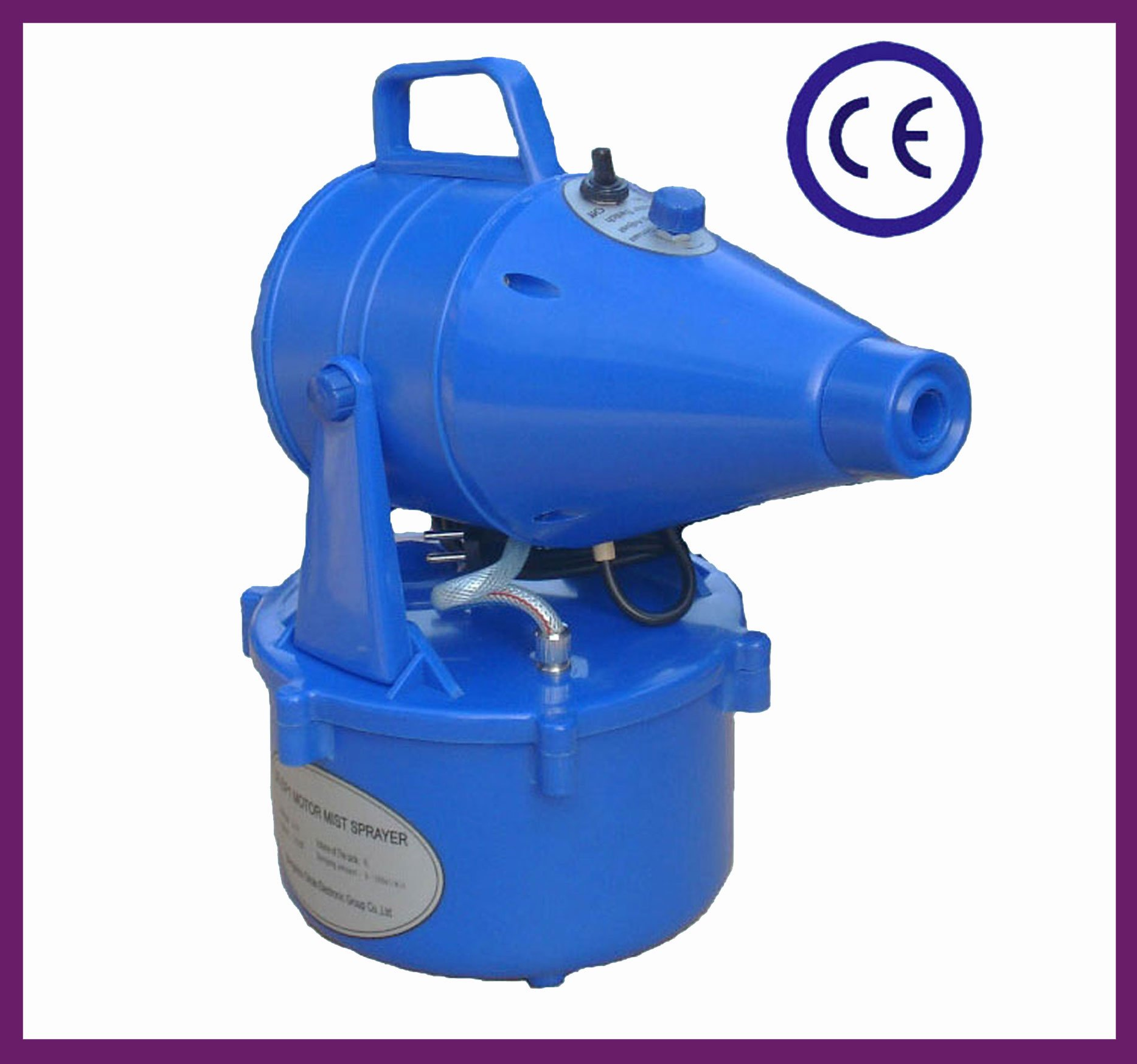 Light Weight Motor Electric Mist Sprayer for Outdoor Disinfection
