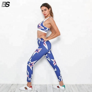 24e9887f77 Hot Wholesale Exercise Clothing Women Printed Leggings Fitness Sports  Leggings Fitness Colorful Yoga Tight Pants Legging