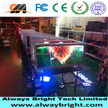Digital Full Color 3G GPS Quality p4 taxi top led display for ad led topper sign