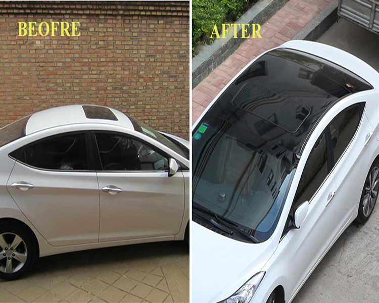 Car Decal Car Roof Sticker/Panoramic Roof Car Sunroof Film Sticker