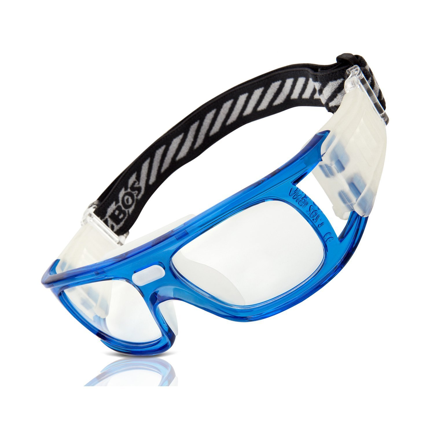 804ce745bb65 Get Quotations · RIVBOS® 1813 Safety Sports Glasses Protective Sports  Goggles with Strap and Portable Case for Basketball