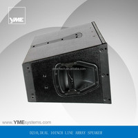 D&B sound system Dual 10inch D210 Q1 audio pro stage speaker