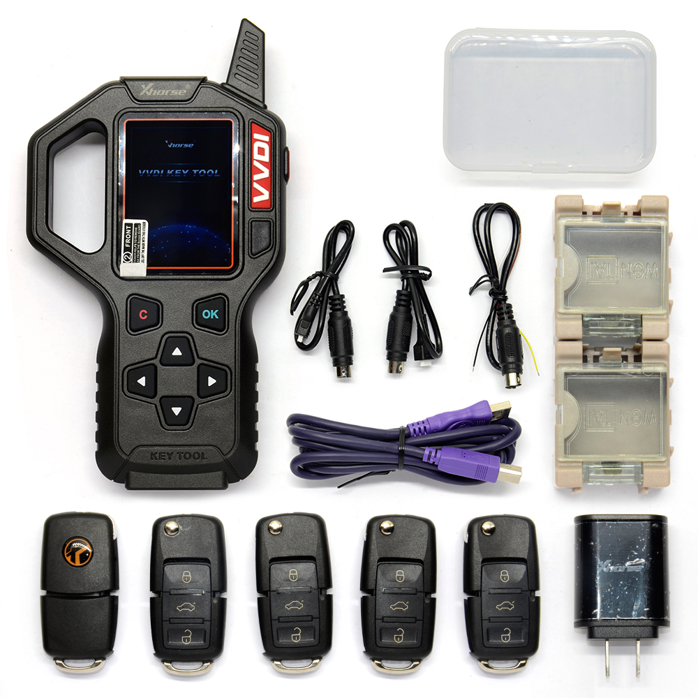 Original Xhorse VVDI Auto Key Programmer Remote Transponder Car Key Tool EU/US Version