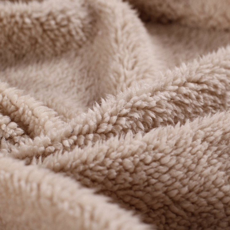 Pas cher 100 polyester teinté sur mesure en velours tissu pour couverture vêtements textile à la maison