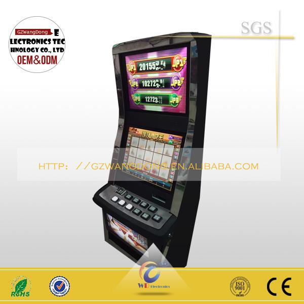 Cheap Baccarate Slot Game Machine,Bingo Metal Cabinet Video Game ...