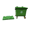 Free printed recycled plastic dustbin trash can industrial waste bins