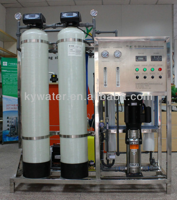 Iso Ce Approved Brackish Water Ro 500lph Drinking Water Treatment ...
