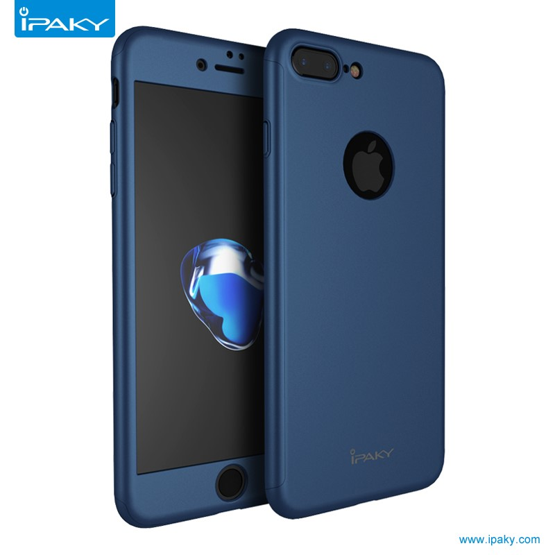 Free sample IPAKY 360 Full <strong>Protect</strong> with retail packaging PC Mobile Phone Case for iPhone 7