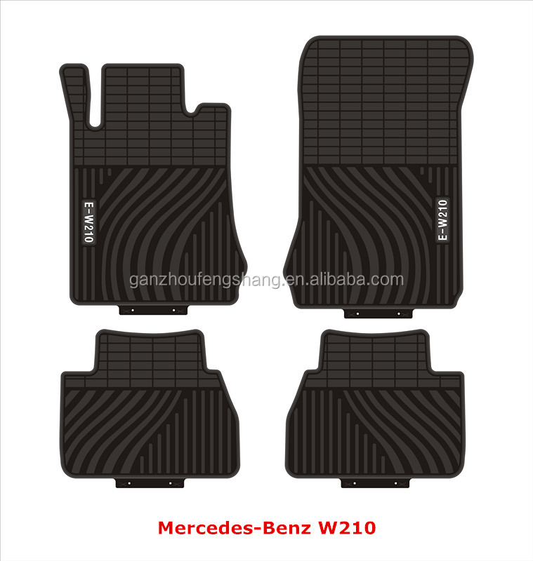 4PCS Per Set Universal Fit Customized Durable PVC Car Mat Car Floor Mat