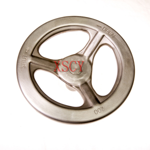 stamping handwheel(Outside diameter:200mm)with Passivation Treatment/Stainless steel stamping hand wheel factory