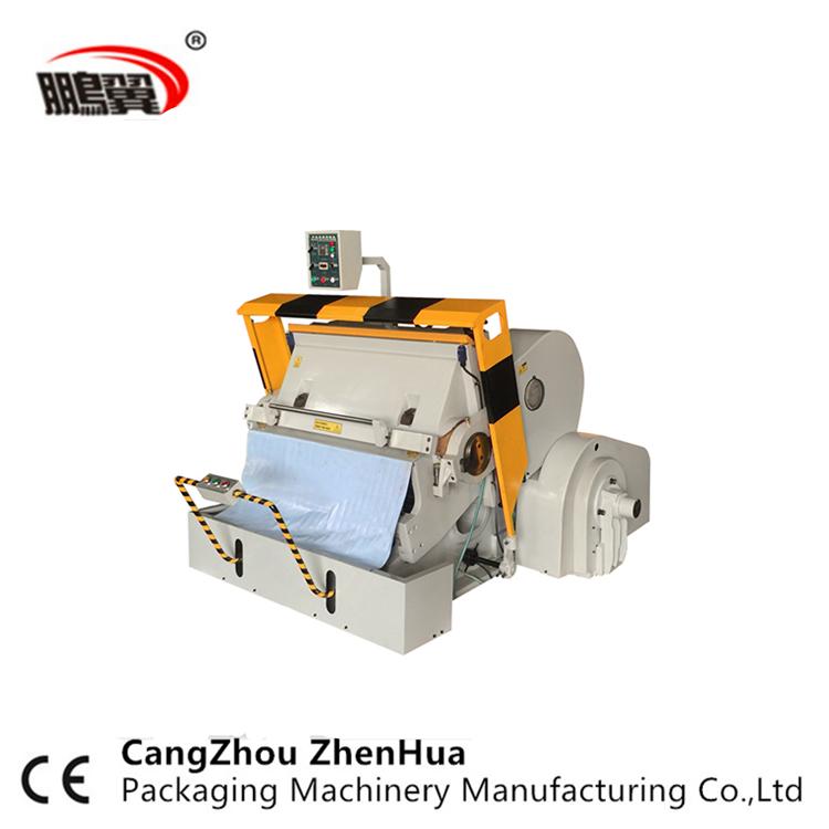 Ml 750 Carton Box Die Cutter/ Manual Die Cutting Machine With Ce - Buy  Paper Die Cutting Machine,Manual Paper Creasing Machine,Die Cutting And