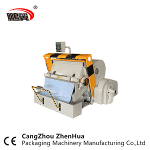 ML 750 Carton box die cutter/ Manual die cutting machine with CE