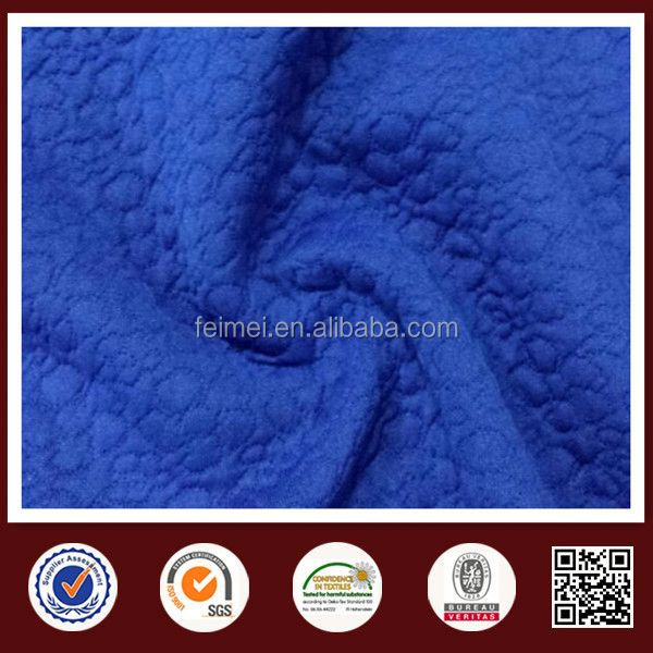 new fashion double knit jacquard fabric with high quality from China knit fabric supplier
